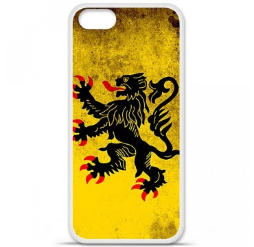 Coque en silicone Apple iPhone 5 / 5S - Drapeau Nord