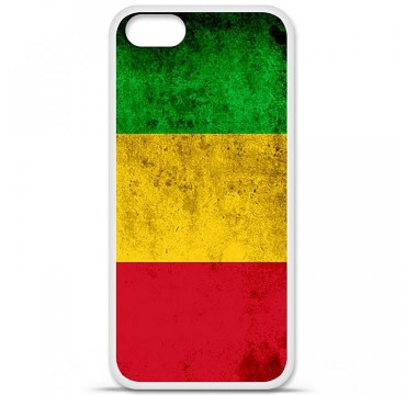 Coque en silicone Apple iPhone 5 / 5S - Drapeau Mali