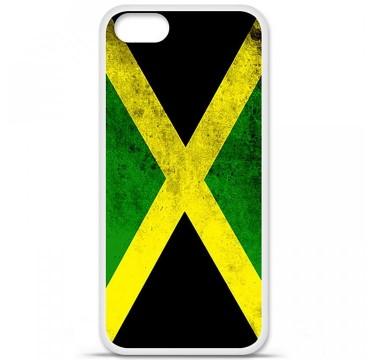 Coque en silicone pour Apple iPhone 5 / 5S - Drapeau Jamaïque