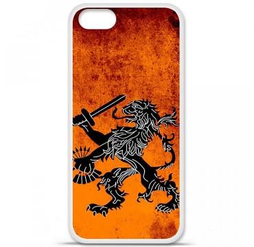 Coque en silicone pour Apple iPhone 5 / 5S - Drapeau Hollande