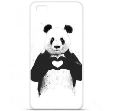 Coque en silicone Huawei P8 - BS Love Panda