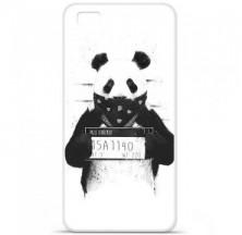 Coque en silicone Huawei P8 - BS Bad Panda