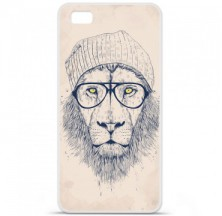 Coque en silicone Huawei P8 - BS Cool Lion