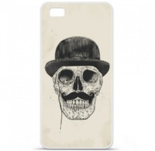 Coque en silicone Huawei P8 - BS Class skull