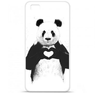 Coque en silicone Huawei P8 Lite - BS Love Panda