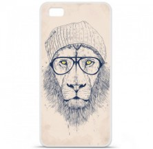 Coque en silicone Huawei P8 Lite - BS Cool Lion