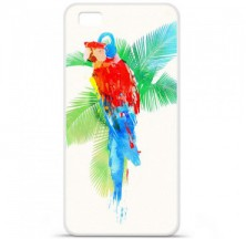 Coque en silicone Huawei P8 Lite - RF Tropical party