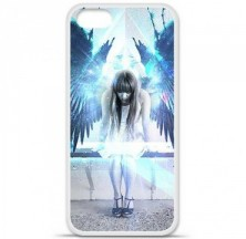 Coque en silicone Apple iPhone 5 / 5S - Angel