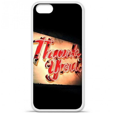Coque en silicone Apple iPhone 5 / 5S - Thank You