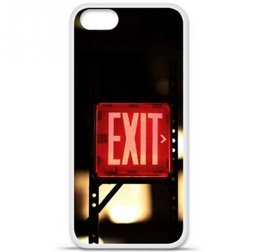 Coque en silicone Apple iPhone 5 / 5S - Exit