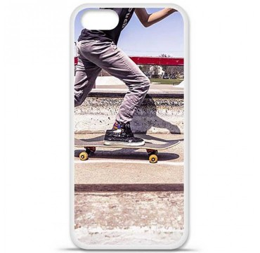 Coque en silicone Apple iPhone 5 / 5S - Skate