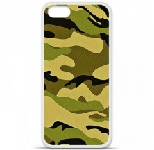 Coque en silicone Apple iPhone 5 / 5S - Camouflage
