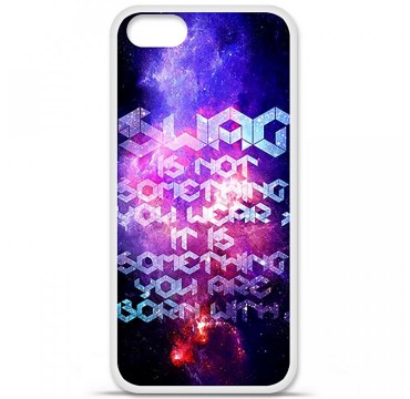 Coque en silicone Apple iPhone 5 / 5S - Cosmic swag