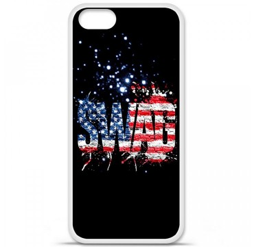 Coque en silicone Apple iPhone 5 / 5S - Swag usa