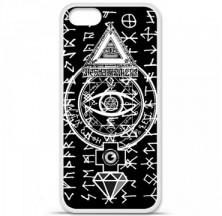 Coque en silicone Apple iPhone 5 / 5S - Esoteric