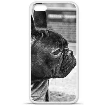 Coque en silicone Apple iPhone 5C - Bulldog