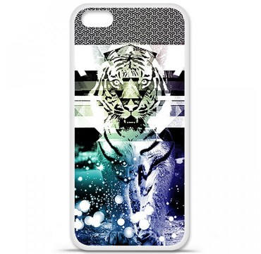 Coque en silicone Apple iPhone 5C - Tigre swag