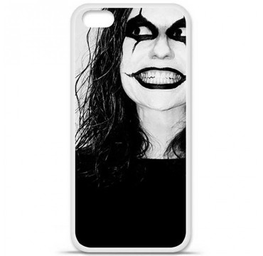 Coque en silicone Apple iPhone 5C - Crow