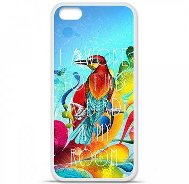 Coque en silicone Apple iPhone 5C - Mocking bird