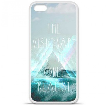 Coque en silicone Apple iPhone 5C - Visionary