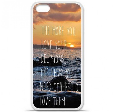 Coque en silicone Apple iPhone 5C - Sunshine