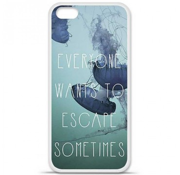 Coque en silicone Apple iPhone 5C - Escape