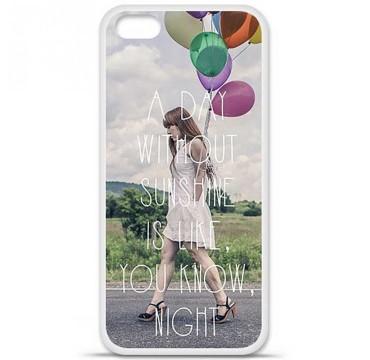 Coque en silicone pour Apple iPhone 5C - Woman