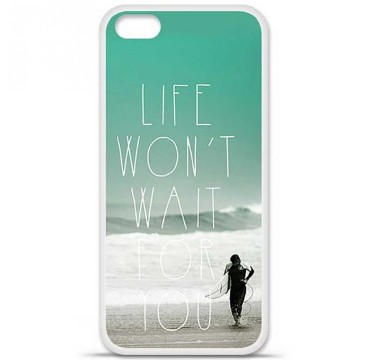 Coque en silicone Apple iPhone 5C - Surfer