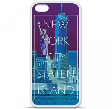 Coque en silicone Apple iPhone 5C - New york