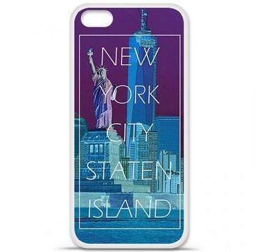 Coque en silicone Apple iPhone 5C - New york