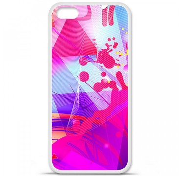 Coque en silicone Apple iPhone 5C - Square