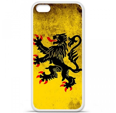 Coque en silicone Apple iPhone 5C - Drapeau Nord