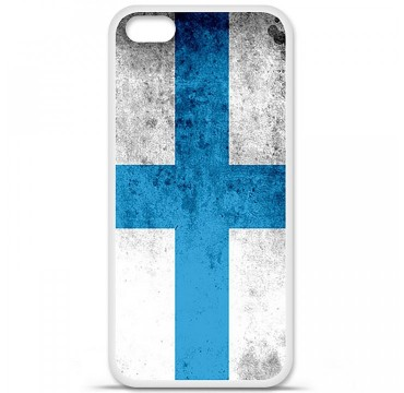 Coque en silicone Apple iPhone 5C - Drapeau Marseille