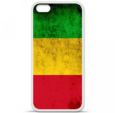 Coque en silicone Apple iPhone 5C - Drapeau Mali