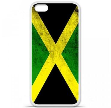Coque en silicone Apple iPhone 5C - Drapeau Jamaïque