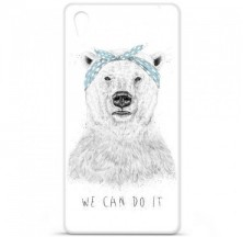 Coque en silicone Sony Xperia Z5 - BS We can do it
