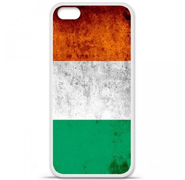 Coque en silicone Apple iPhone 5C - Drapeau Côte-d'ivoire