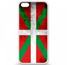 Coque en silicone Apple iPhone 5C - Drapeau Basque