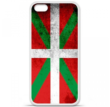 Coque en silicone Apple iPhone 5C - Drapeau Basque