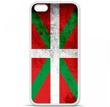 Coque en silicone pour Apple iPhone 5C - Drapeau Basque