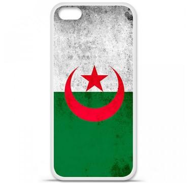 Coque en silicone Apple iPhone 5C - Drapeau Algérie