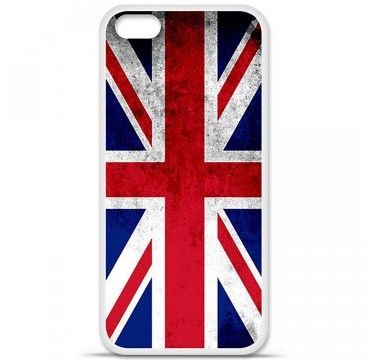 Coque en silicone Apple iPhone 5C - Drapeau Angleterre