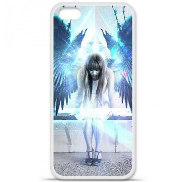 Coque en silicone Apple iPhone 5C - Angel