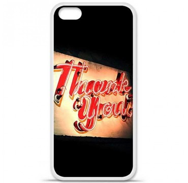 Coque en silicone Apple iPhone 5C - Thank You