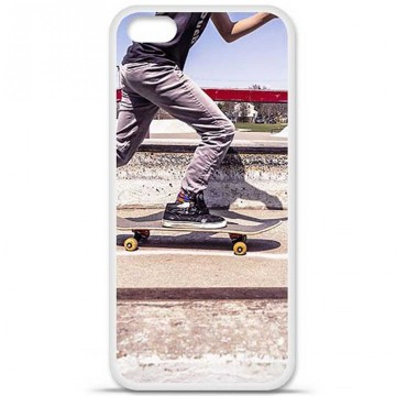 Coque en silicone Apple iPhone 5C - Skate