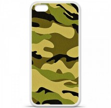 Coque en silicone Apple iPhone 5C - Camouflage