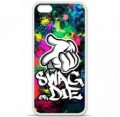 Coque en silicone Apple iPhone 5C - Swag or die