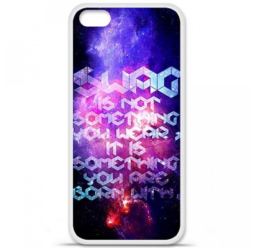 Coque en silicone Apple iPhone 5C - Cosmic swag