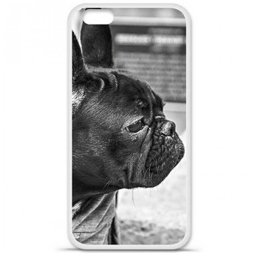 Coque en silicone Apple iPhone 6 / 6S - Bulldog