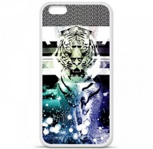 Coque en silicone Apple iPhone 6 / 6S - Tigre swag